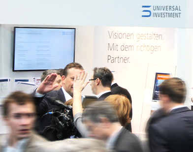Universal-Investment auf dem Fondskongress 2016
