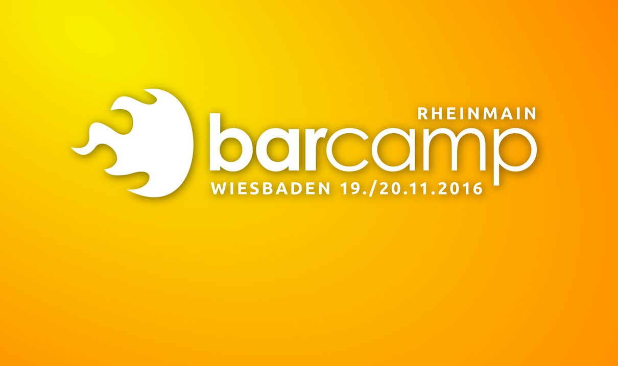 Logo Barcamp RheinMain in Wiesbaden